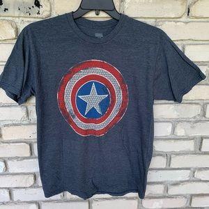 Captain America marvel shirt